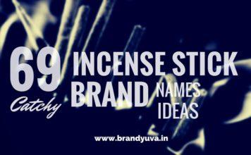incense stick brand names