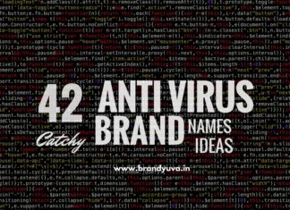 anti virus brand names