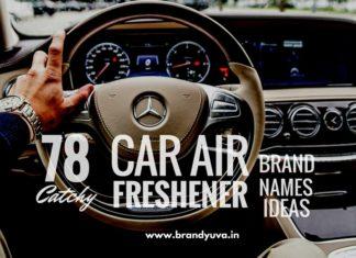 car air freshener brand names