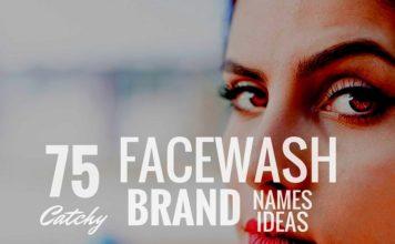 facewash brand names
