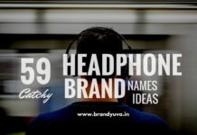headphone brand names