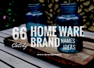 home ware brand names
