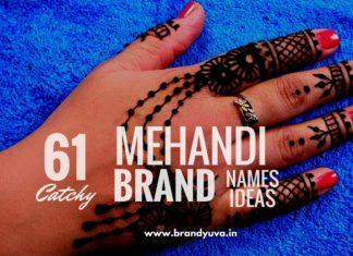 mehandi brand names