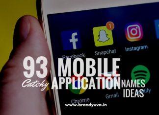 mobile app names