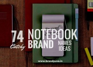 paper notebook brand names