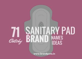 sanitary pad brand names
