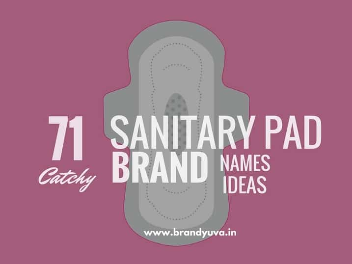 71 Creative Sanitary Pad Brand Names Ideas | Naming Suggestions