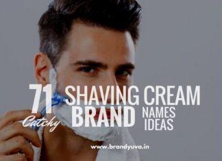 shaving cream brand names