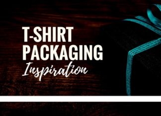 best tshirt packaging