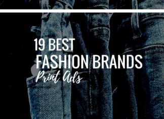 fashion brands print ads