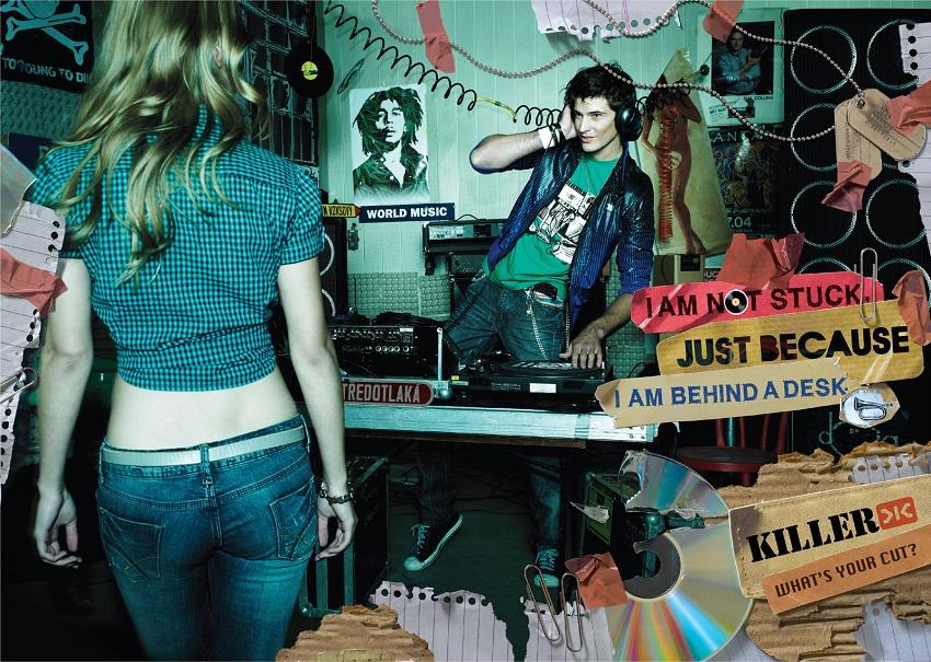 killer jeans print ads