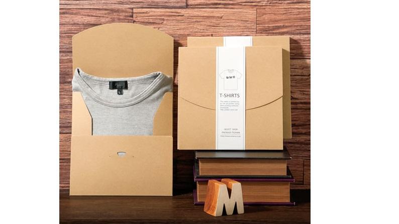 t shirt packaging idea