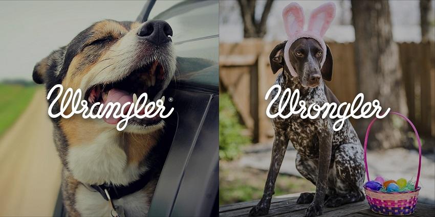 Wrangler print ads