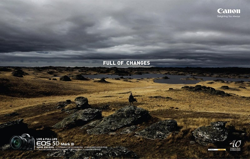 Creative Canon Ads