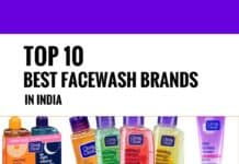 best facewash brands