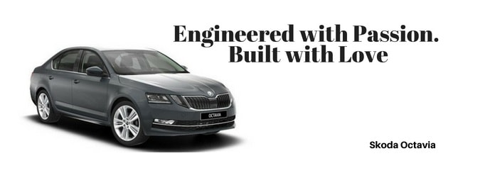 skoda octavia car Slogan