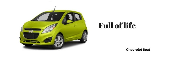 Chevrolet Beat car Slogan