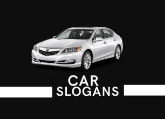 Creative car slogans