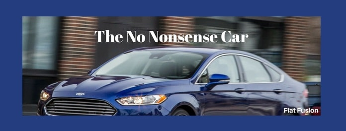 ford fusion car Slogan