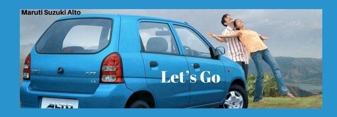 maruti alto car Slogan