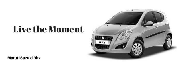 amruti ritz car Slogan