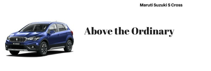 maruti s cross car Slogan