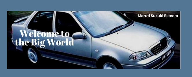 maruti esteem car Slogan