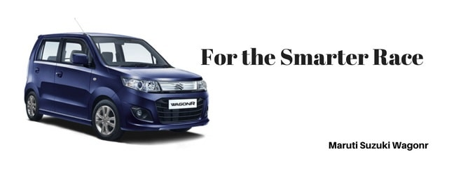 amruti wagonr car Slogan