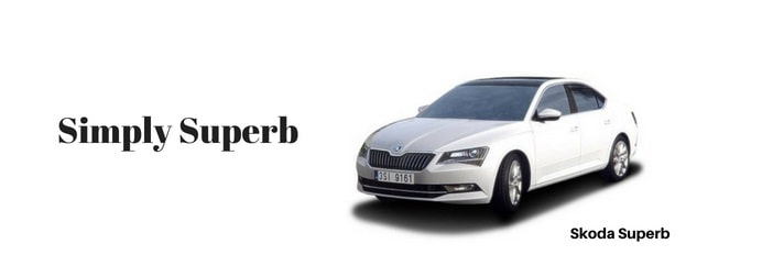 skoda superb car Slogan