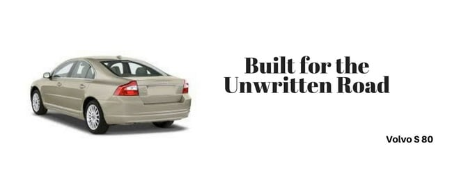 Volvo s 80 car Slogan