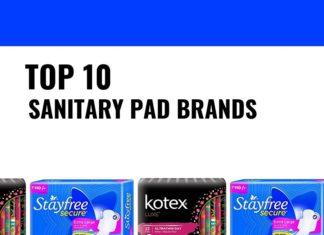 best sanitary pad brands