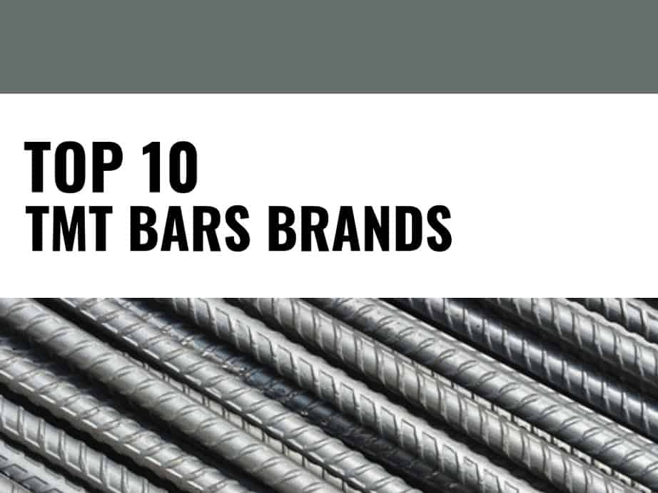 Top 10 Best TMT Bar Companies in India | Brandyuva