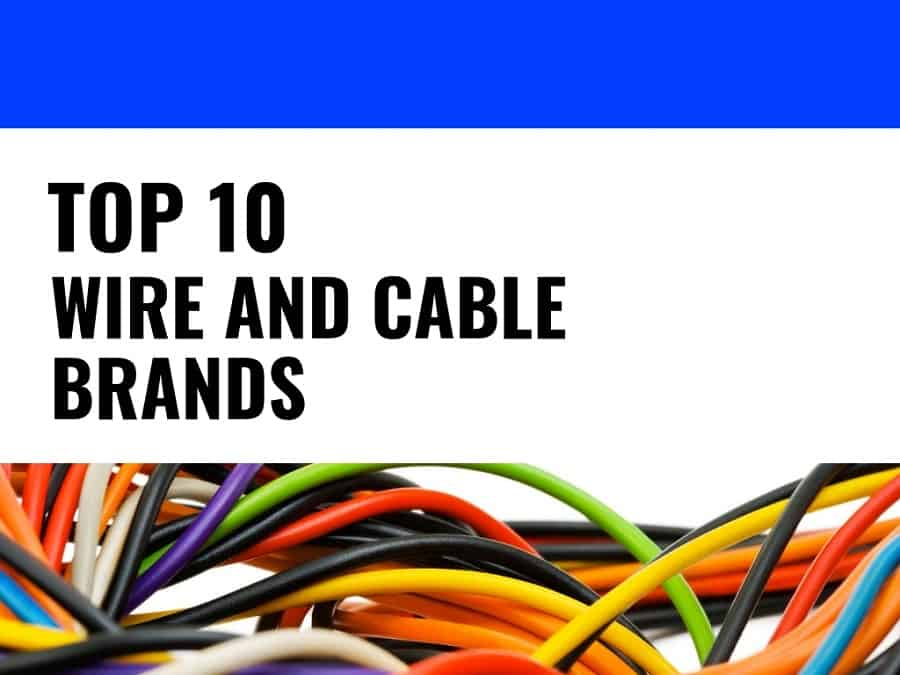 Top 10 Best Wire Cables Brands In India, House Wiring Cost In India