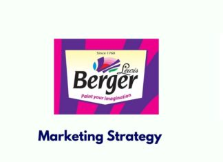 marketing strategies of berger paints