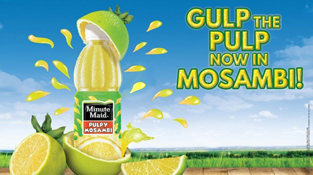 minute maid mosambi print ad