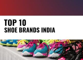best shoes brands india