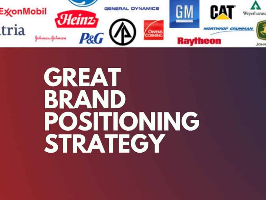 5 Examples of Great Brand Positioning Strategy | thebrandboy