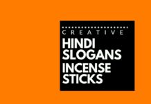 hindi advertising slogans for agarbatti