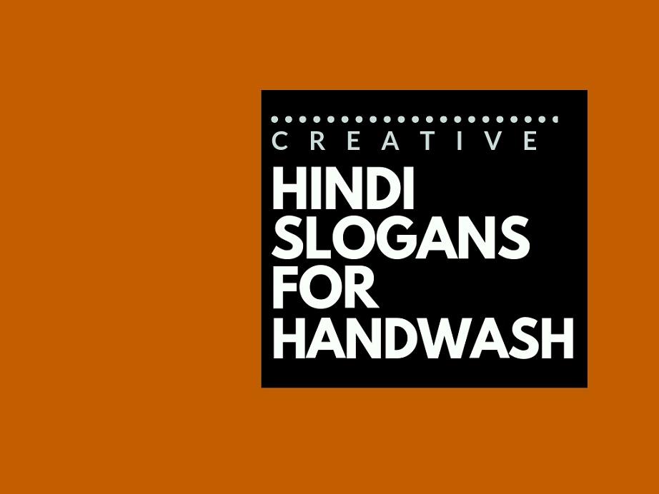 92+ Catchy Hindi Advertising slogans for Handwash brand
