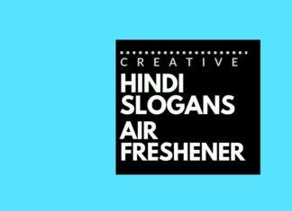 Hindi slogans for an Air Freshener