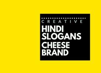 Hindi Advertising Slogans for cheese