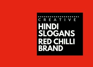 Catchy Hindi slogans for a Red Chili brand