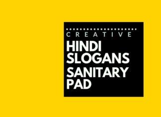 Hindi Slogans for a Sanitary Pad