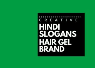 Hindi Slogans for a Hair Styling Gel