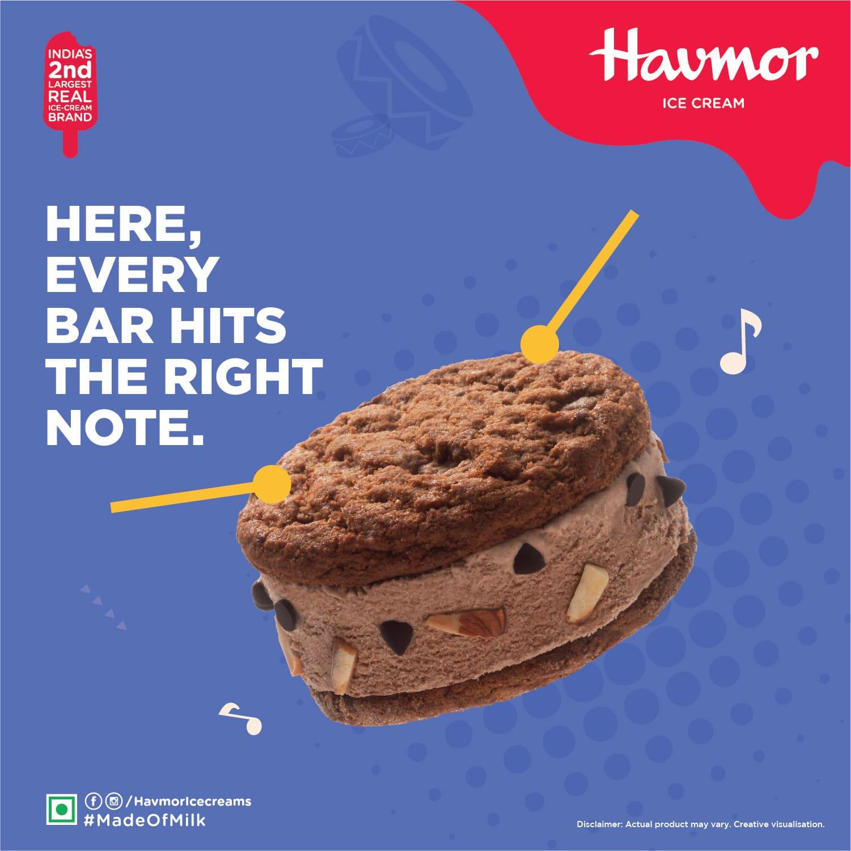 havmore ice cream ads