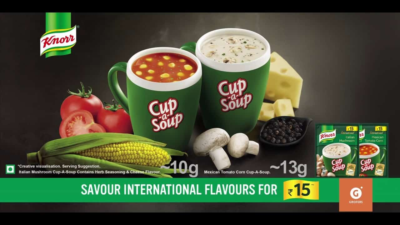 knorr soup ad
