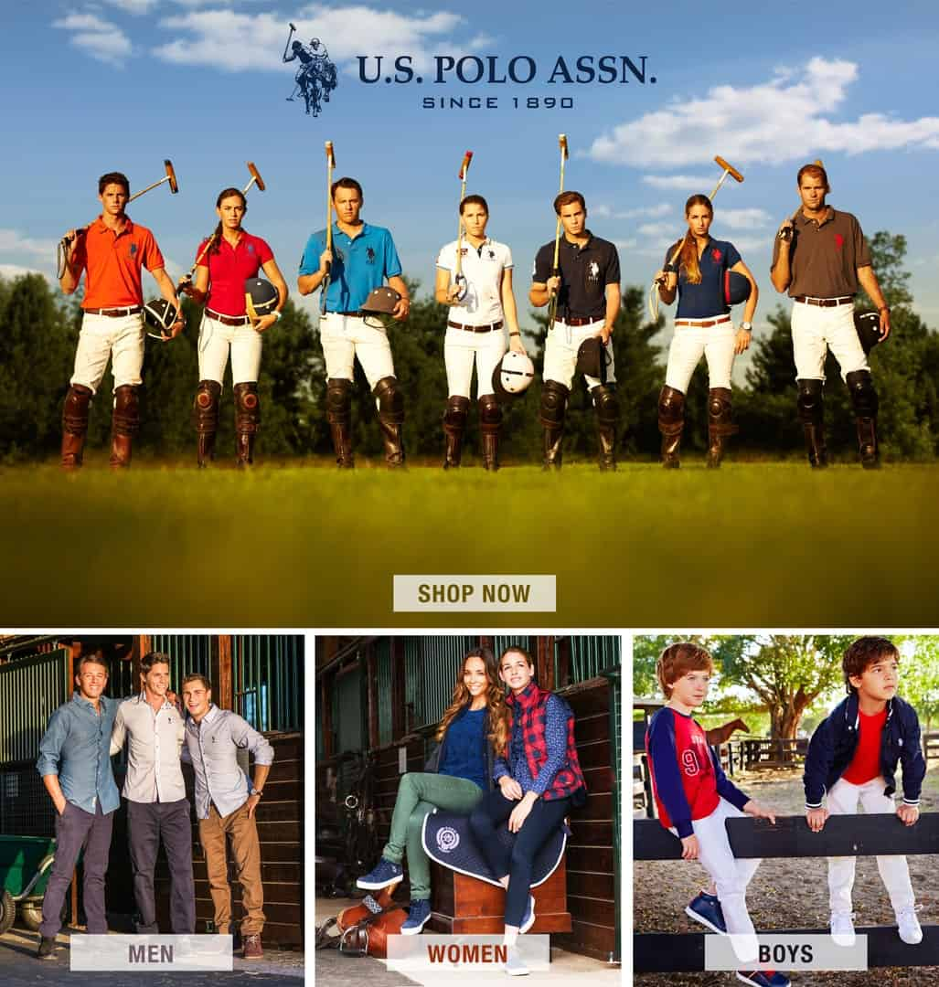 us polo assn print ads