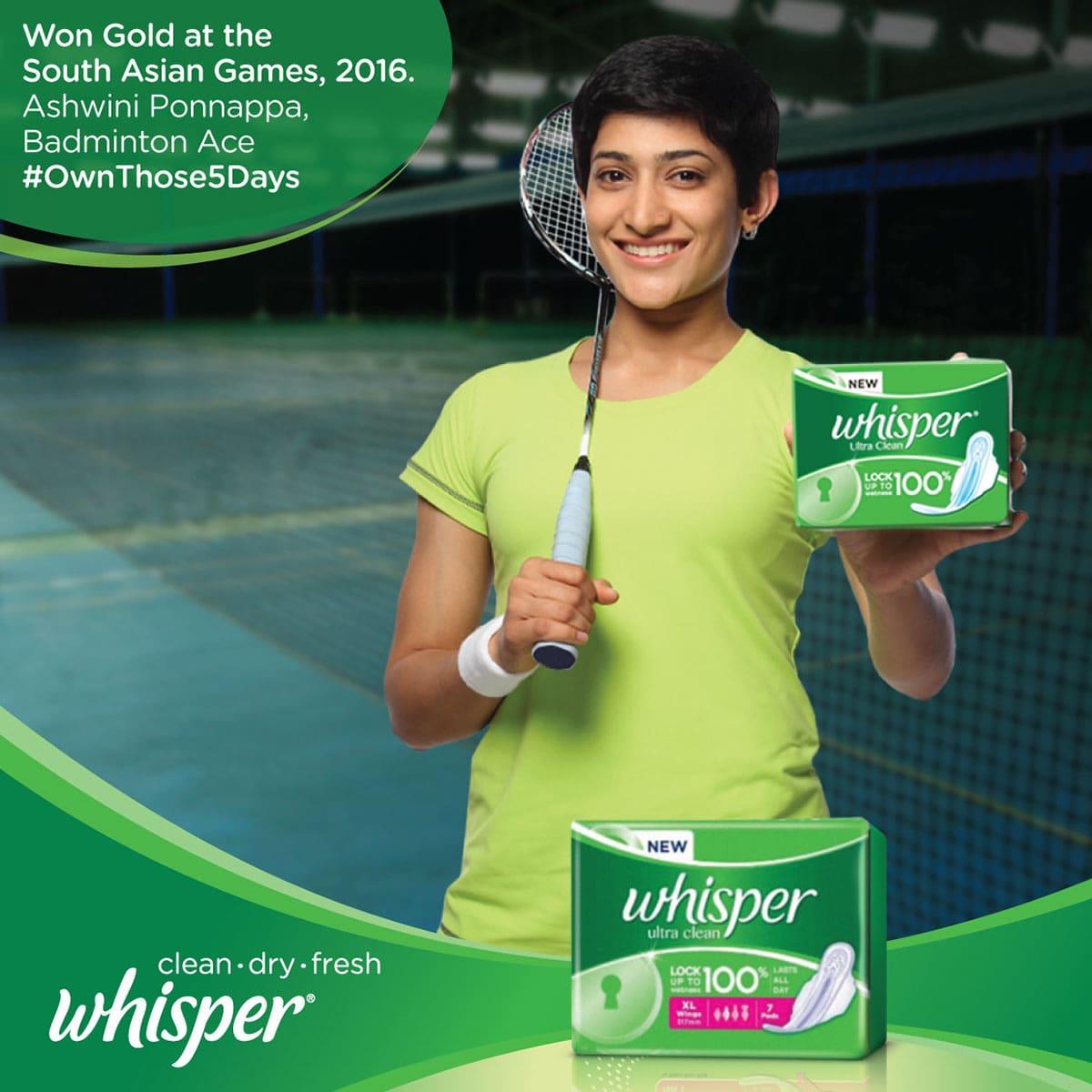 whisper best ads