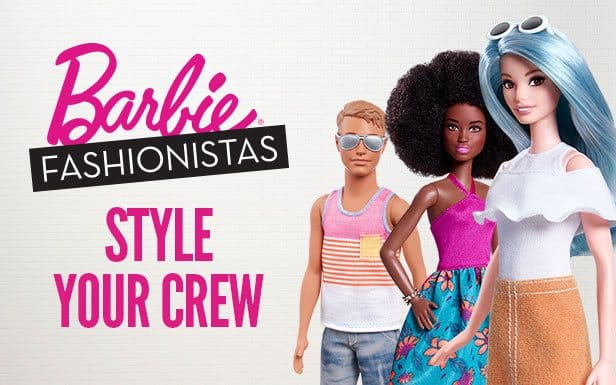 barbie print ads