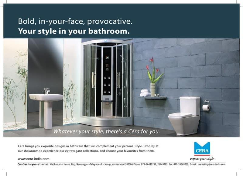 Cera creative print ads